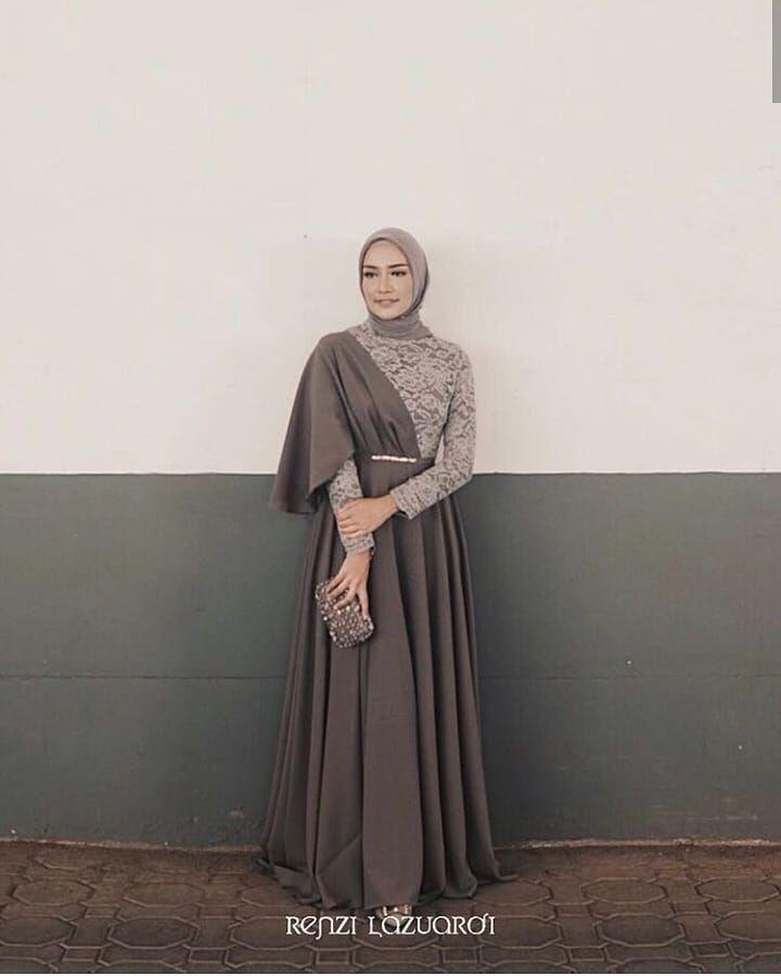 Inspirasi Gaun/Kebaya Muslimah di Instagram