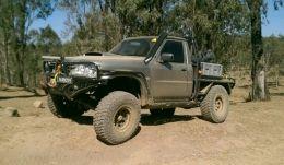 1999 Nissan Patrol Ute DX by kcworks http://www.truckbuilds.net/1999-nissan-patrol-ute-dx-build-by-kcworks