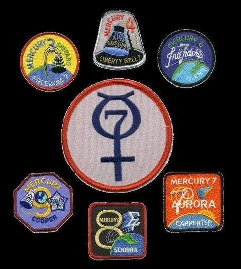 nasa mercury program buttons - photo #10