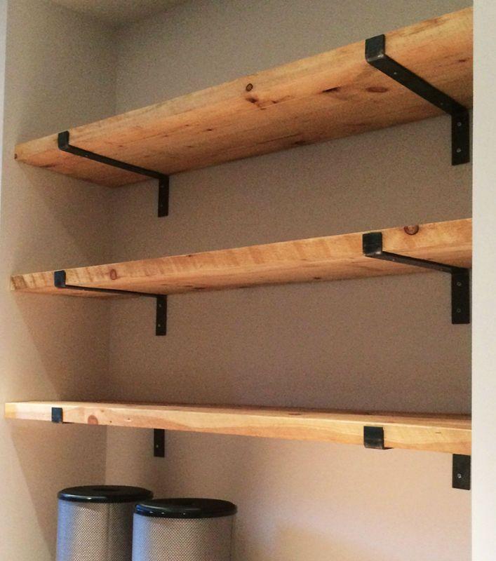 En bois massif Wall Hanging étagèreCuisine/'s Cottage ArmoireCottage étagères