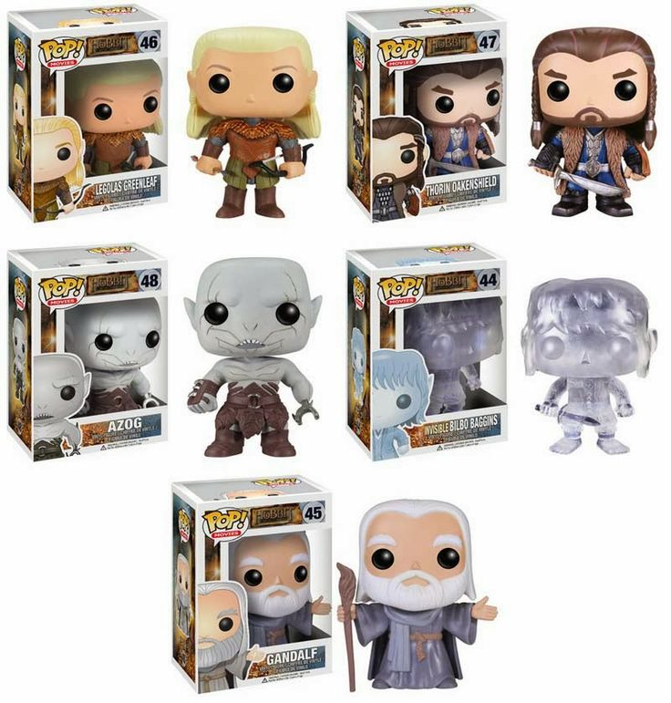 The Hobbit Funko Pops!
