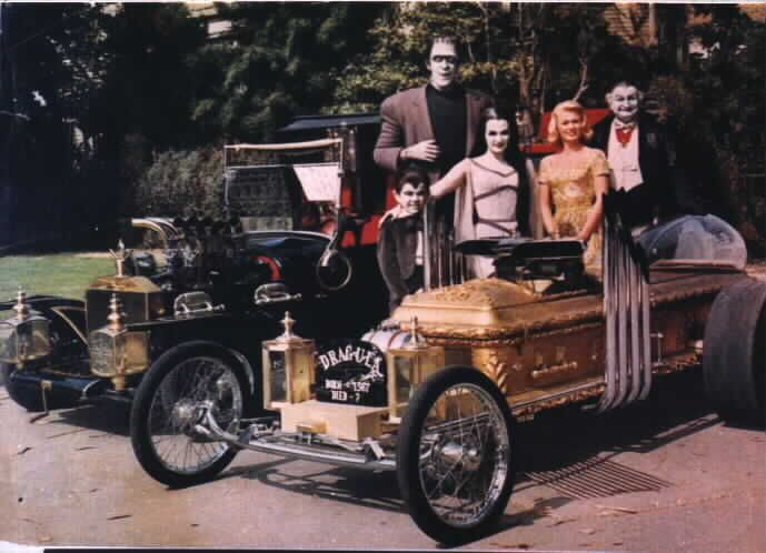 FYI - the Munster Mobile and Drag-Ula  care of tvacres dot com