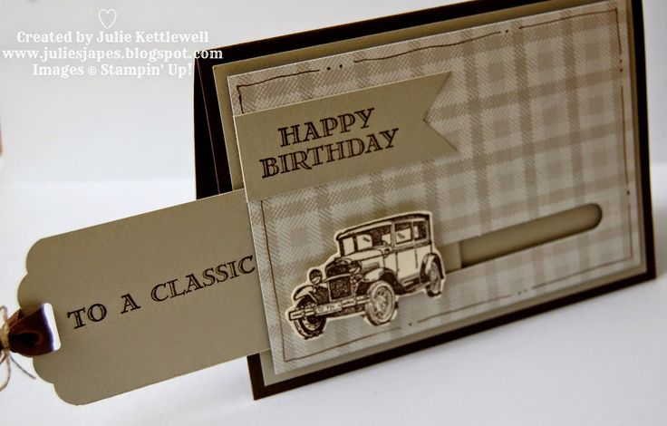 Stampin' Up! UK Order Online 24/7 - Julie Kettlewell: To a Classic