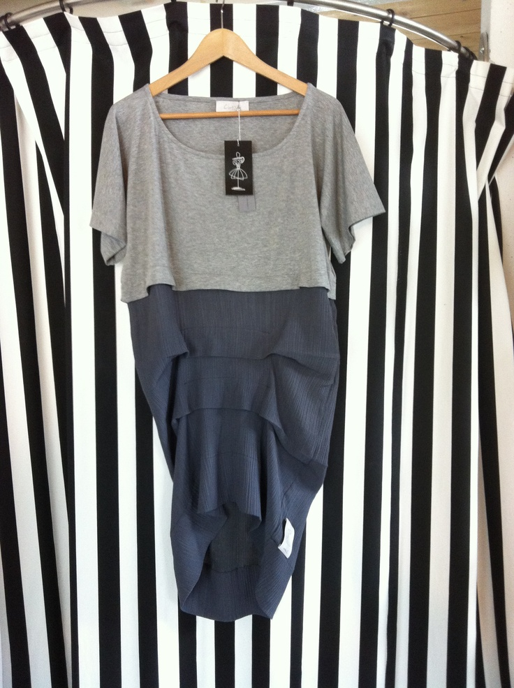 Grey maxi t-shirt