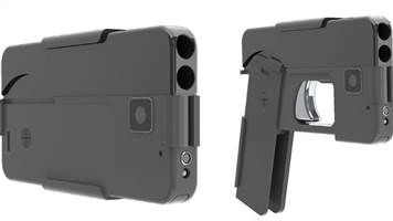 Company Invents Gun That Looks Like a Cell Phone