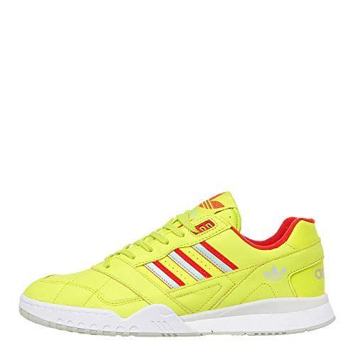 adidas , Baskets Mode pour Homme Jaune Jaune adidas   Basket mode ...