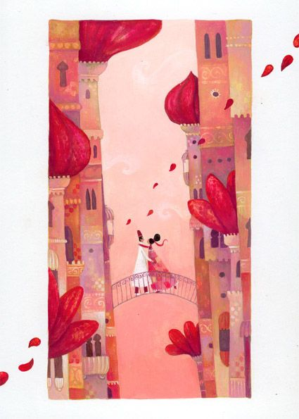 Illustrations Anja Klauss Portfolio : cartes postales