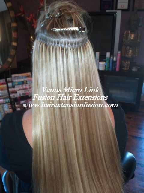 Venus Micro Links Hair Extensions is the Best Hair Extensions Method.  Also Known as Micro Link Hair Extensions, Micro Beads Hair Extensions, and Micro Loops Hair Extensions.  Visit Our Hair Extensions Store Online to Buy the Best Human Remy Hair Extensions. www.ciaobellaextensions.com