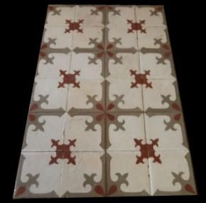 Luxury patterned floor tiles salvaged from old spanish vila,we are spanish profesional supplier of architectural antiques,for more info visit us here : www.luxurystyle.es