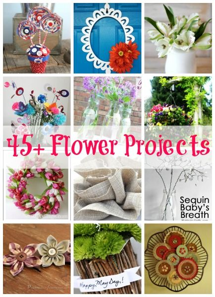 45+ Flower Projects & Tips