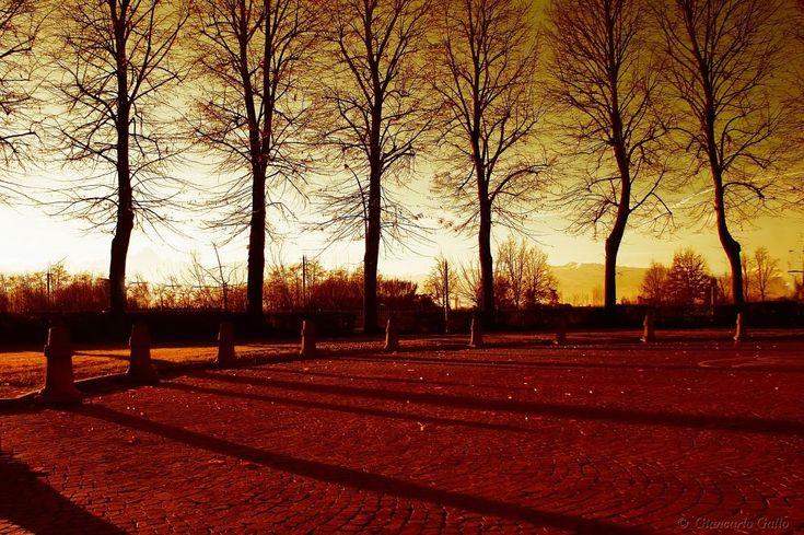 Long shadows by Giancarlo Gallo