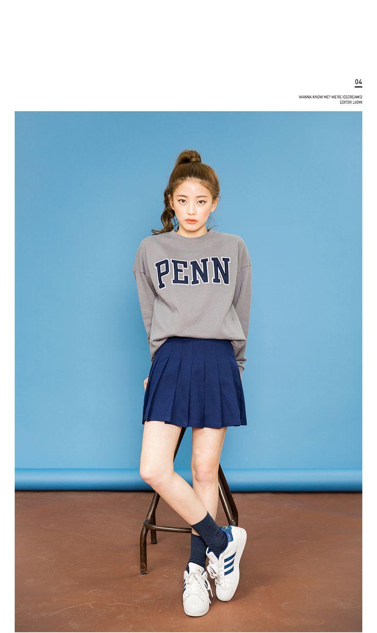 아이스크림12(Icecream12) | 여기저기 테니스스커트 넘나 난리야 skirt | skirt