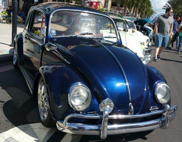 '66 bug with 2015 Maserati Blue Oceano Paint by BASF Glasurit