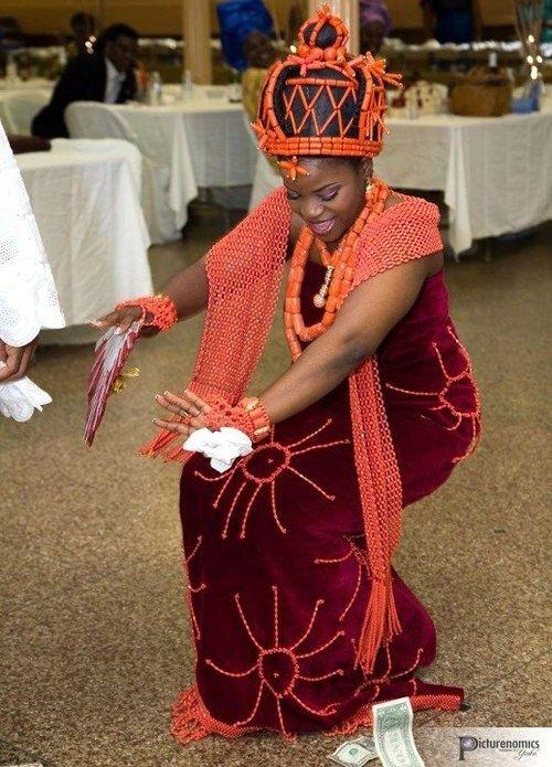 edo bride dancingthe nigerian style nigerian brides