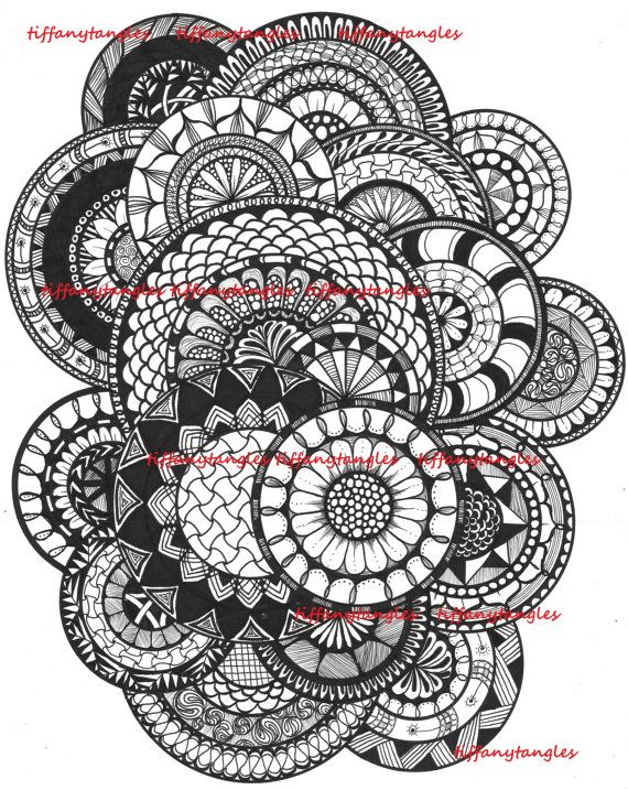 17 Best images about Zentangle circle on Pinterest | Circles ...