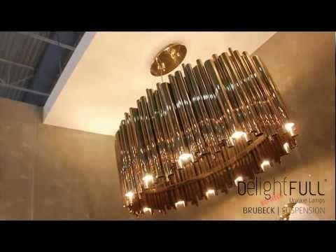 Suspension Brubeck Lamp - Delightfull | Unique Lamps design lamps vintage retro fashion
