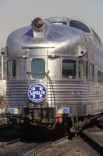 Image detail for -Stock Photo titled: An Old Pullman Car From The Santa Fe Railroad Line ... Dome Car.