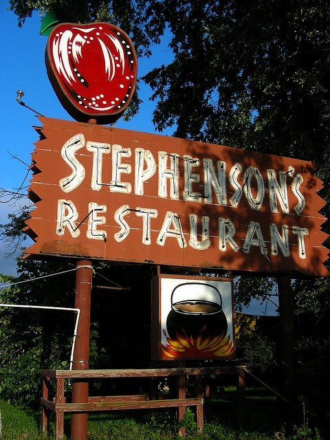 Stephenson's Orchard Restaurant in Independence, Missouri — Our wedding rehearsal dinner was here in 1975