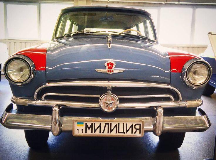#policecar #oldcar #raritet  #Ukraine #mezhugori by kseniia.bondarenko