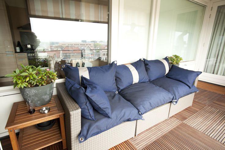 Big Pillows on balcony II