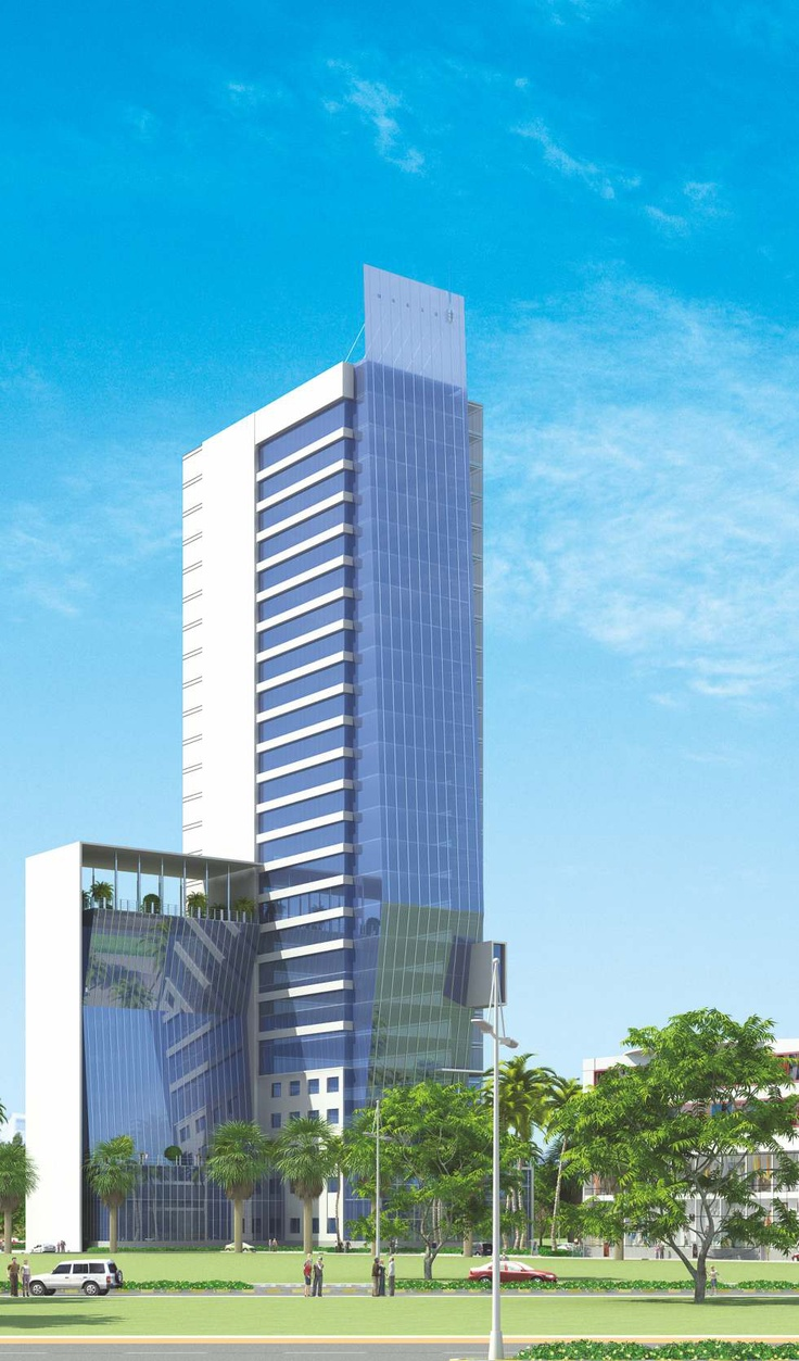 Front View - Floreal Towers by Orris at New Gurgaon