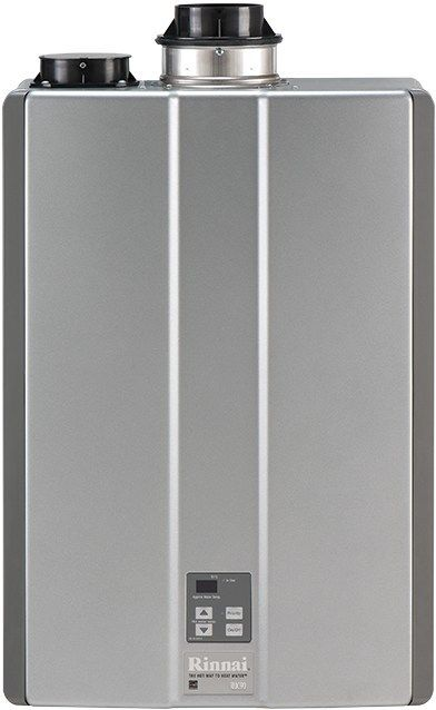 Rinnai RU80IN 8.0 GPM Indoor Ultra-NOx Condensing Tankless Natural Gas Water Heater