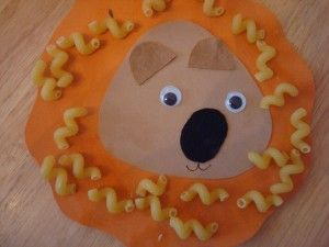 J is for jungle: Crafts For Kids, Letter Craft, Pasta Crafts, Kids Crafts, Kiddies Crafts, Kid Crafts, Face Pasta
