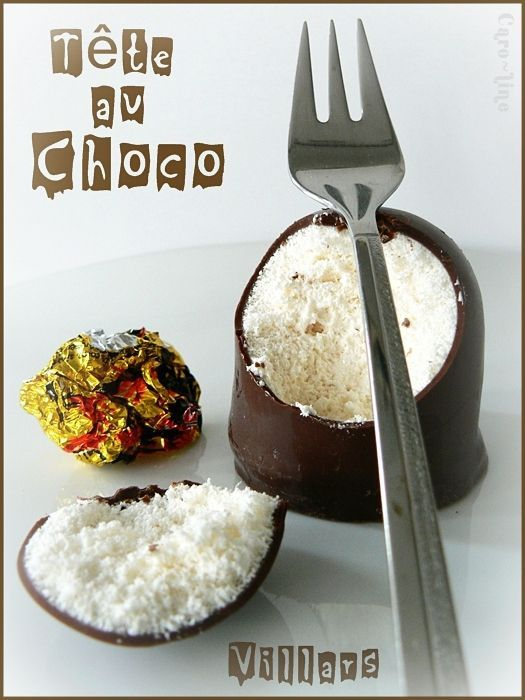 """""""Tête au Chocolat"""" ou """"Tête de nègre"""" ou """"Choco Küsse"""""""