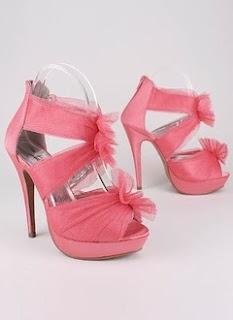 super cute pink heels