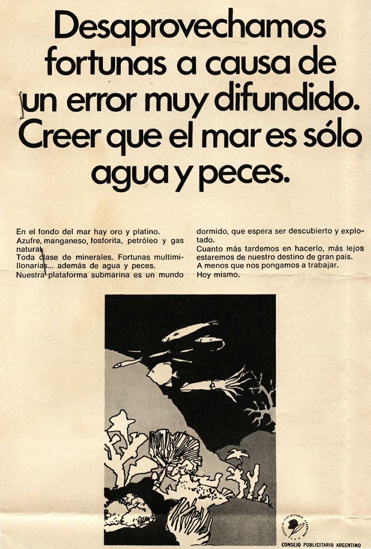 """""""Creación de Conciencia Marítima 4""""-1969"""