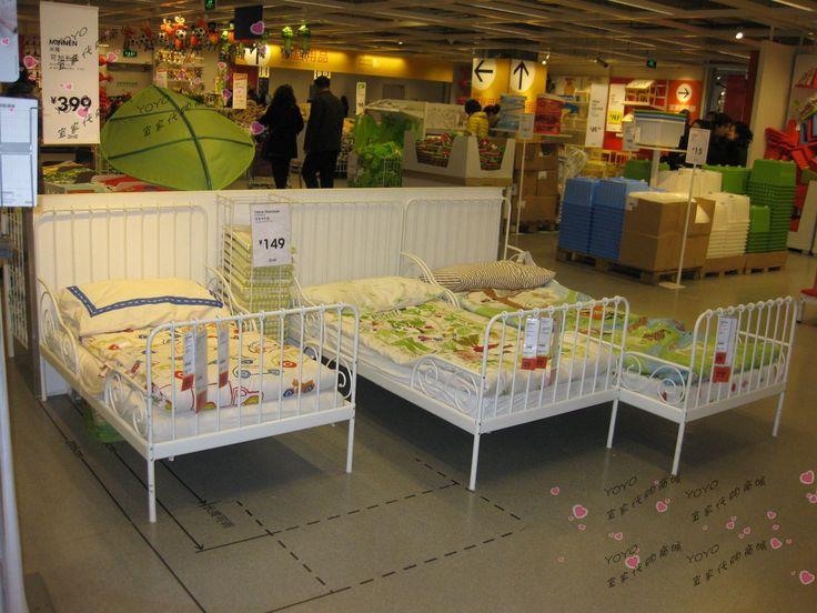 Ikea minnen bed the girls 39 room pinterest room kids for Arelle ikea
