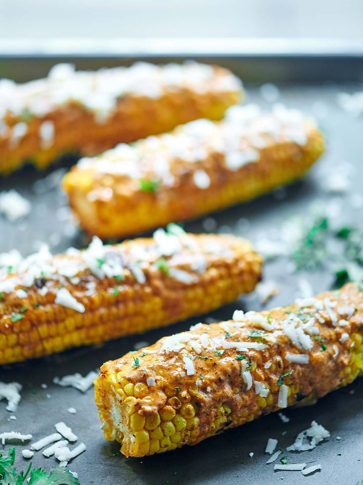 ... Corn on Pinterest | Grilling corn, Grilled corn recipe and Mexican