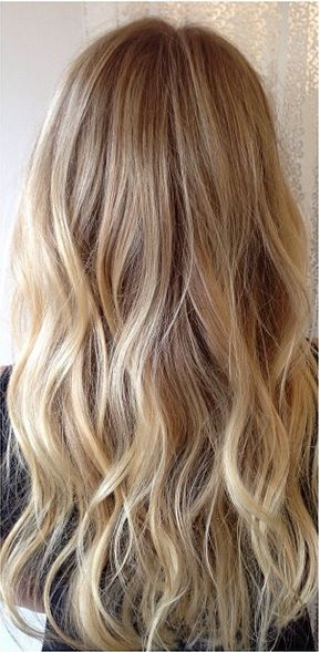 stylish blonde hair