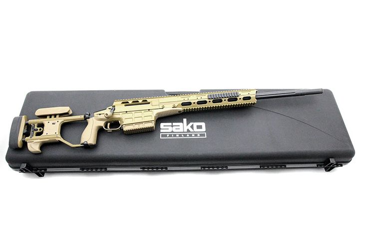 SAKO TRG M10, .308 WinLoading that magazine is a pain! Get your Magazine speedloader today! http://www.amazon.com/shops/raeind