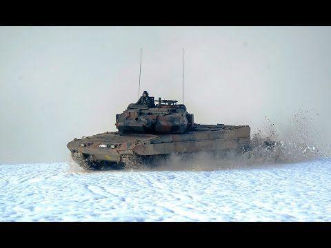 Hellenic Armored Brigades On Border  Exercise | Winter Warfare 2017