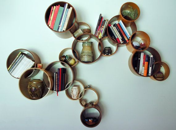 Modular Circle Bookshelf - $180.00 | 16 Unique And Awesome Bookshelves For Every Budget