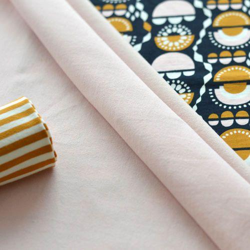 NOSH Organics Fabrics - VILSKE, Navy