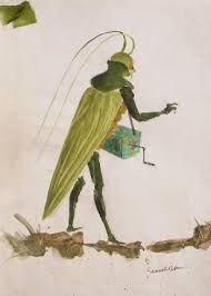 how to make a grasshopper costume
