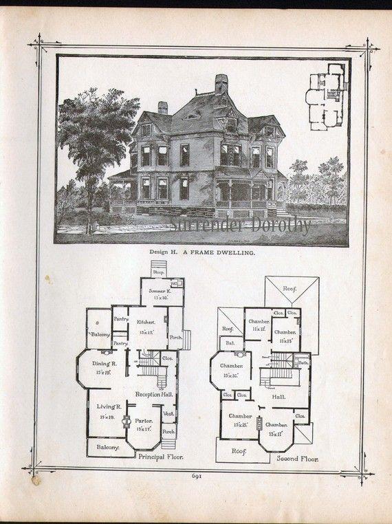 Vintage Farmhouse Plans 57 best architecture images on pinterest