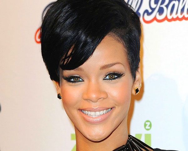 Rihanna Hairstyles: 52 Best Wigs Images On Pinterest