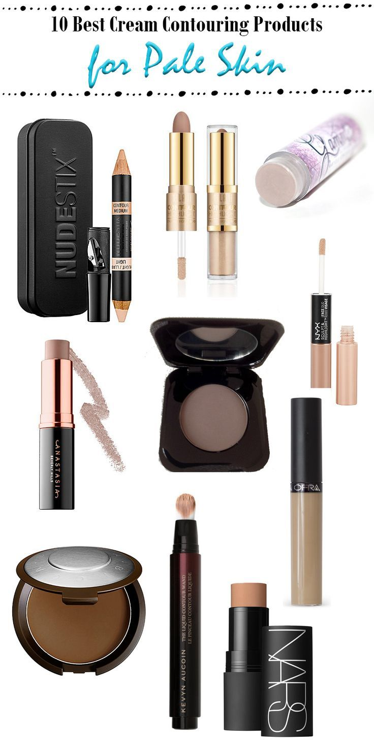 Top 10 Cream Contouring Products For Pale Skin Pale Skin