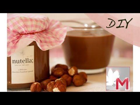 ▶ Lifestyle mit LadyLandrand - DIY-Aktion zum Muttertag - Homemade Nutella - YouTube