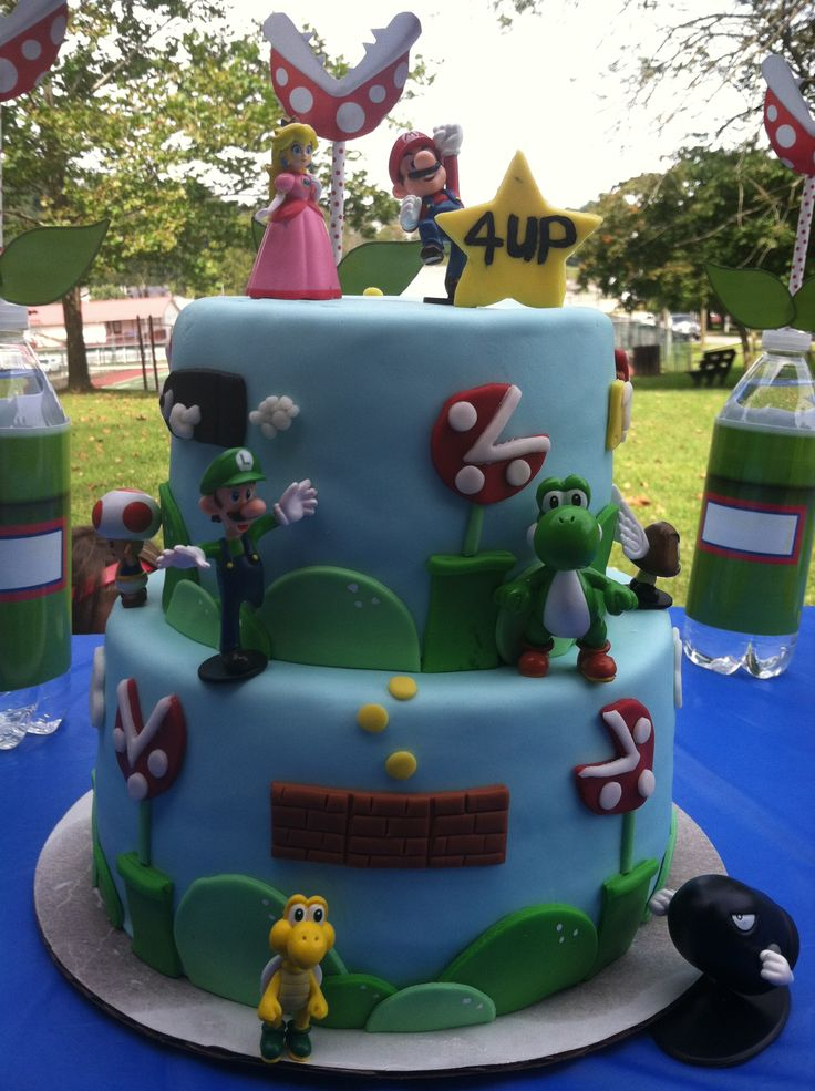 Super Mario Cake - Sweet Creations by Ivory