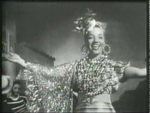 "CARMEN MIRANDA - O QUE É QUE A BAIANA TEM ""That's the first time Carmen Miranda ever appeared wearing a Bahiana costume in a movie."""