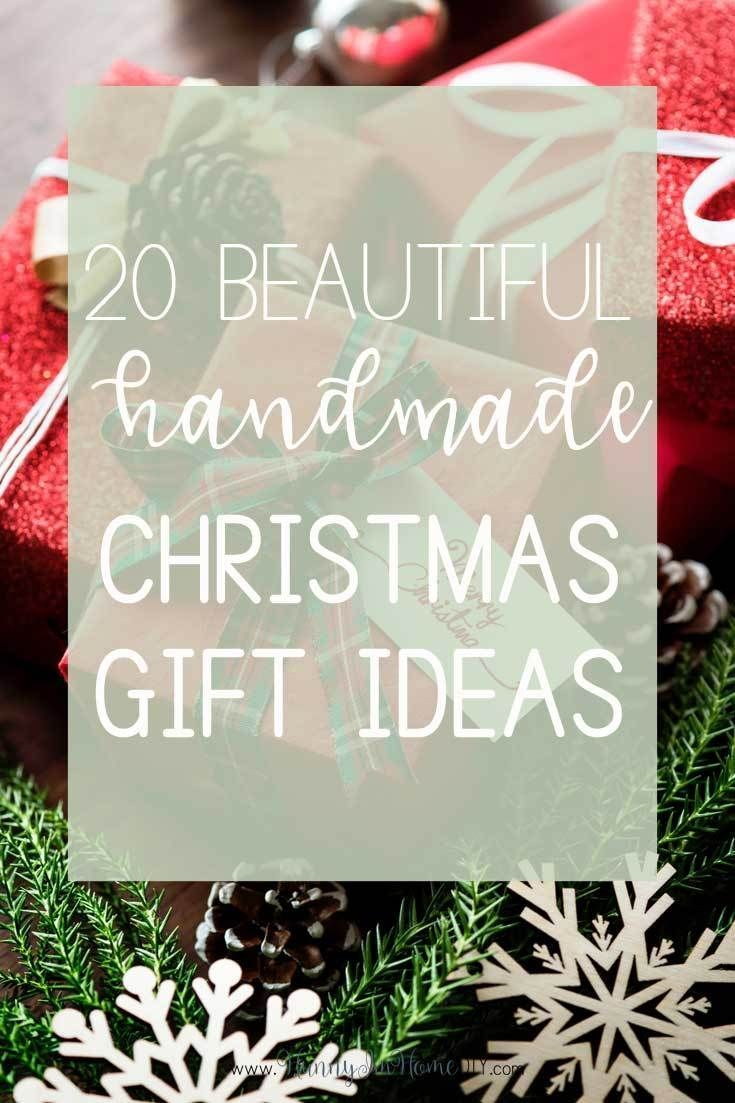 beautiful handmade christmas gifts