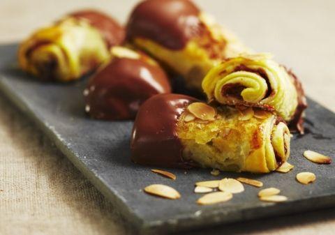 Cigares feuilletés chocolat pommes amandes | Croquons La Vie - Nestlé