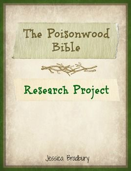 character analysis of adah price in the poisonwood bible a novel by barbara kingsolver The poisonwood bible study guide contains a biography of barbara kingsolver, literature essays, quiz questions, major themes, characters, and a full summary and analysis.