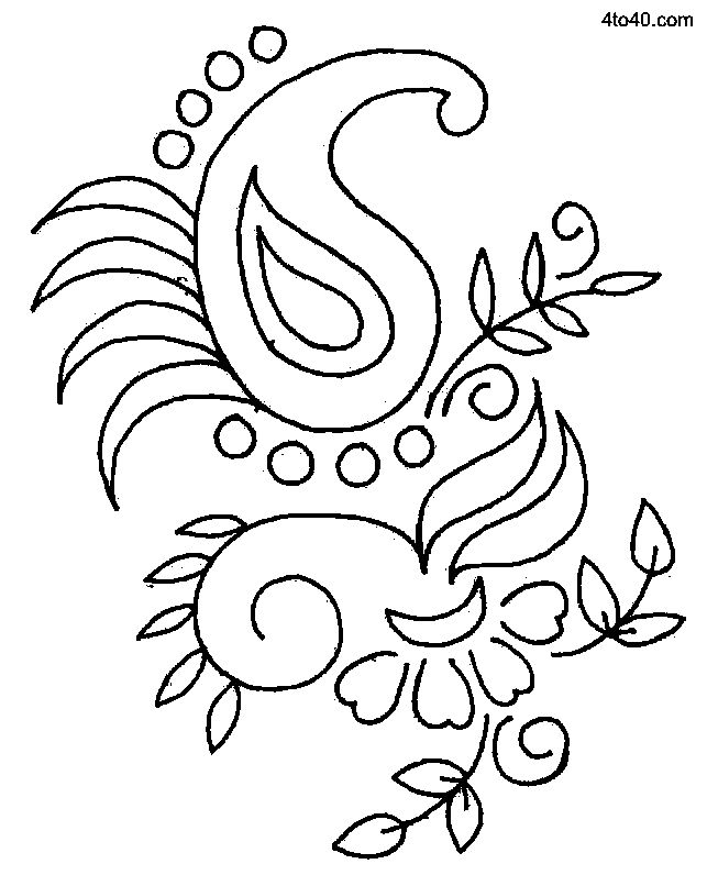 Sarika Agrawal Embroidery Designs – 2017 Floral Embroidery Design at 4to40.com via Google. Image Only. jwt #artesaniasmexico