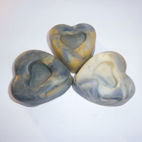 márványos szívforma