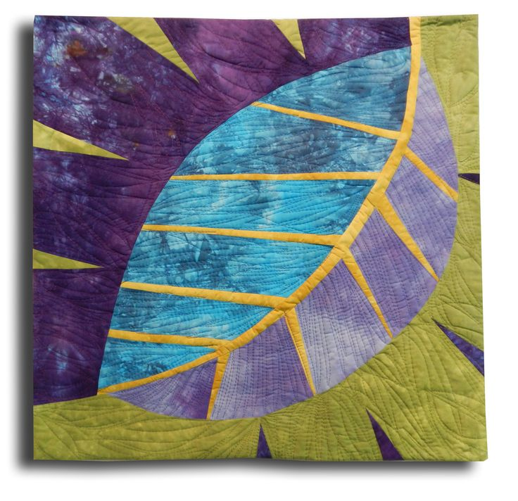 New Big Leaf by Pat Pauly   art quilt workshop